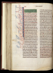 Decorated Initial, In A Volume Of Works By, Or Attributed To, St. Jerome f.58v